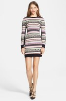 RED Valentino Jacquard Sweater Dress