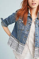 Pilcro and the Letterpress Pilcro Eyelet Denim Jacket