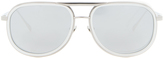Linda Farrow Luxe Platinum Plated Sunglasses