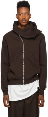 Rick Owens Brown Mountain Hoodie
