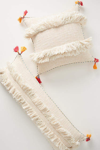 Anthropologie Tufted Padma Pillow