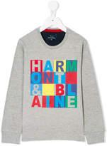Harmont & Blaine Junior colour-block sweatshirt