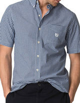 Chaps Big and Tall Short-Sleeve Plaid Poplin Shirt