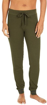 PJ Salvage Cozy Joggers (Charcoal) Women's Pajama