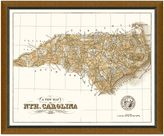Bed Bath & Beyond Framed North Carolina Map Wall Décor