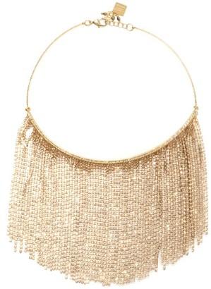Rosantica Crystal-fringe Necklace - Crystal