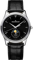 Jaeger-LeCoultre Jaeger Le Coultre 1368470 Master stainless steel and alligator leather watch