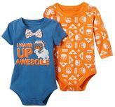 Baby Starters Baby Boy 2-pk. Pug Bodysuits