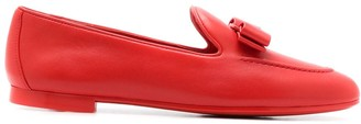 Salvatore Ferragamo Lesley bow-detail loafers