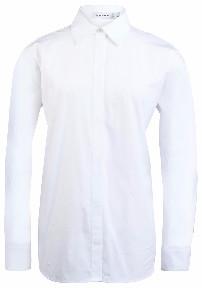 J. Lindeberg Nicco Comfy White Poplin Shirt - 34 - White