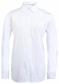 J. Lindeberg Nicco Comfy White Poplin Shirt - 38 - White