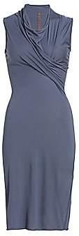 Rick Owens Lilies Women's Cowlneck Sheath Dress