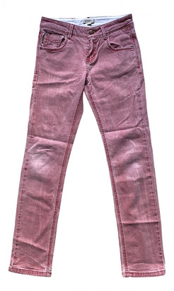 Burberry Red Denim - Jeans Trousers