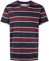 Ami Alexandre Mattiussi stripes print T-shirt - men - Cotton - XL