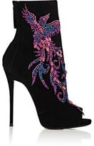 Giuseppe Zanotti Women's Glitter- & Crystal-Embellished Ankle Boots-RED, PURPLE, BLACK