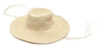 Greenpacha Tulum Wide-brim Straw Hat - Womens - Beige