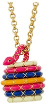 Kate Spade Spice Things Up Snake Locket Necklace Necklace