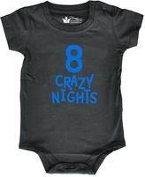 Black 'Eight Crazy Nights' Bodysuit - Infant