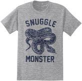 """Big & Tall """"Snuggle Monster"""" Snake Tee"""