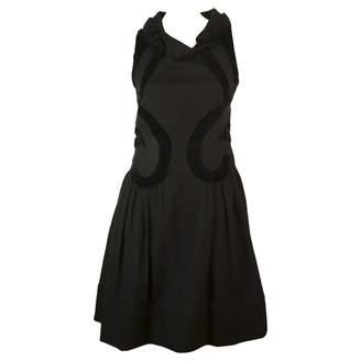 Rue Du Mail Black Wool Dress for Women