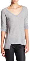 Velvet by Graham & Spencer V-Neck Cashmere Pullover Sweater
