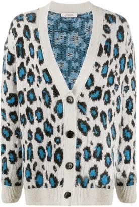 Dorothee Schumacher Wild Softness leopard-print cardigan