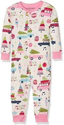 Hatley Little Blue House Baby Union Suits Sleepsuit,18-24 Months