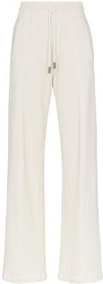 Off-White Off White Diagonal Stripe detail sweatpants