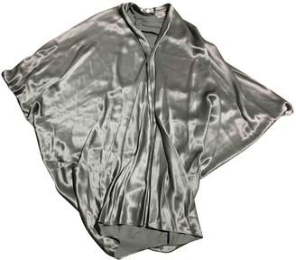 Les Petites Grey Silk Dresses