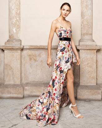 Adriana Iglesias Anta Asymmetrical Maxi Dress