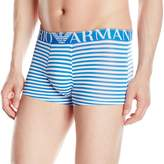 Emporio Armani Men's Microfiber Sailor Trunk