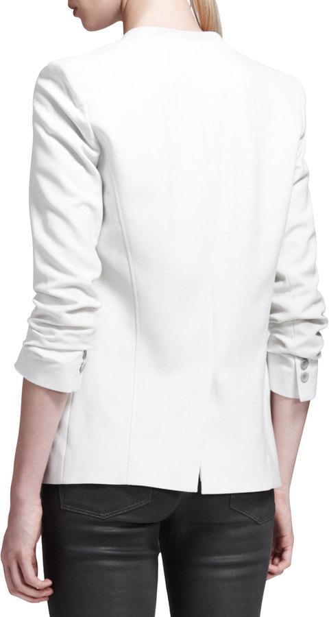 Helmut Lang HELMUT Prime Single-Button Suiting Jacket