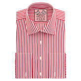 Thomas Pink Algernon Stripe Slim Fit Double Cuff Shirt