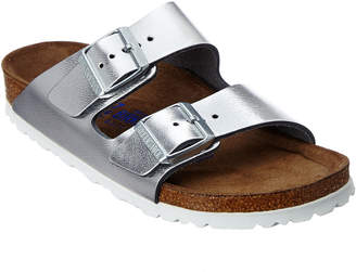 Birkenstock Women's Arizona Soft Footbed Birko-Flor Sandal