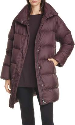 Eileen Fisher Funnel Neck Down Coat