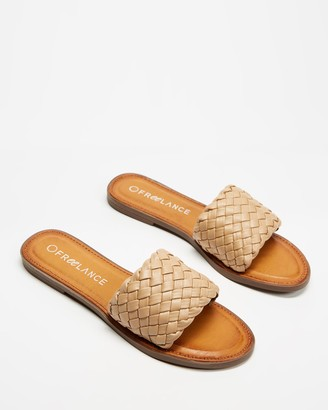 Freelance Shoes - Women's Flat Sandals - Jacco - Size One Size, 39 at The Iconic