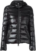 Rossignol zipped hooded puffer jacket - women - Polyamide/Feather Down - XS