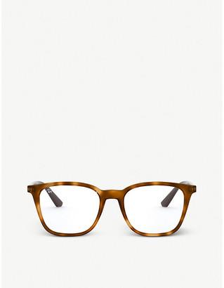 Ray-Ban RX7177 square acetate eyeglasses