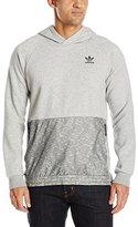 adidas Men's Sport Luxe Mixed Fabric Hoodie