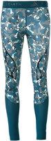 adidas by Stella McCartney camouflage print leggings - women - Polyester/Spandex/Elastane - XS