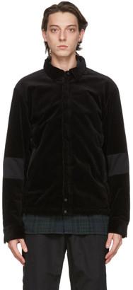 Nonnative Black Corduroy Coach Jacket