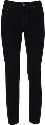 Fendi Slim Camouff Pocket Dark Jeans