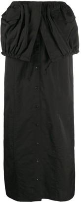 Jacquemus La Jupe Cueillette long skirt