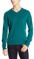 Original Penguin Men's Long Sleeve Fully Fashioned Sweater