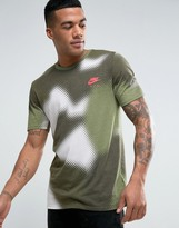 Nike T-shirt With Faded Print In White 834614-101