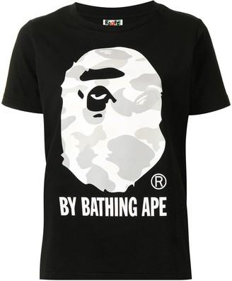 A Bathing Ape camouflage-print T-shirt