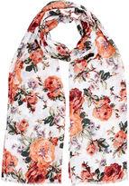 Oasis Floral Bloom Print Scarf