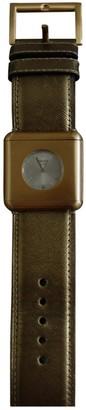 Prada \N Gold Steel Watches