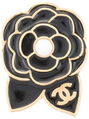 Chanel Pre Owned Camellia Brooch Pin
