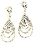 L'Imagine Gold Teardrop Earrings